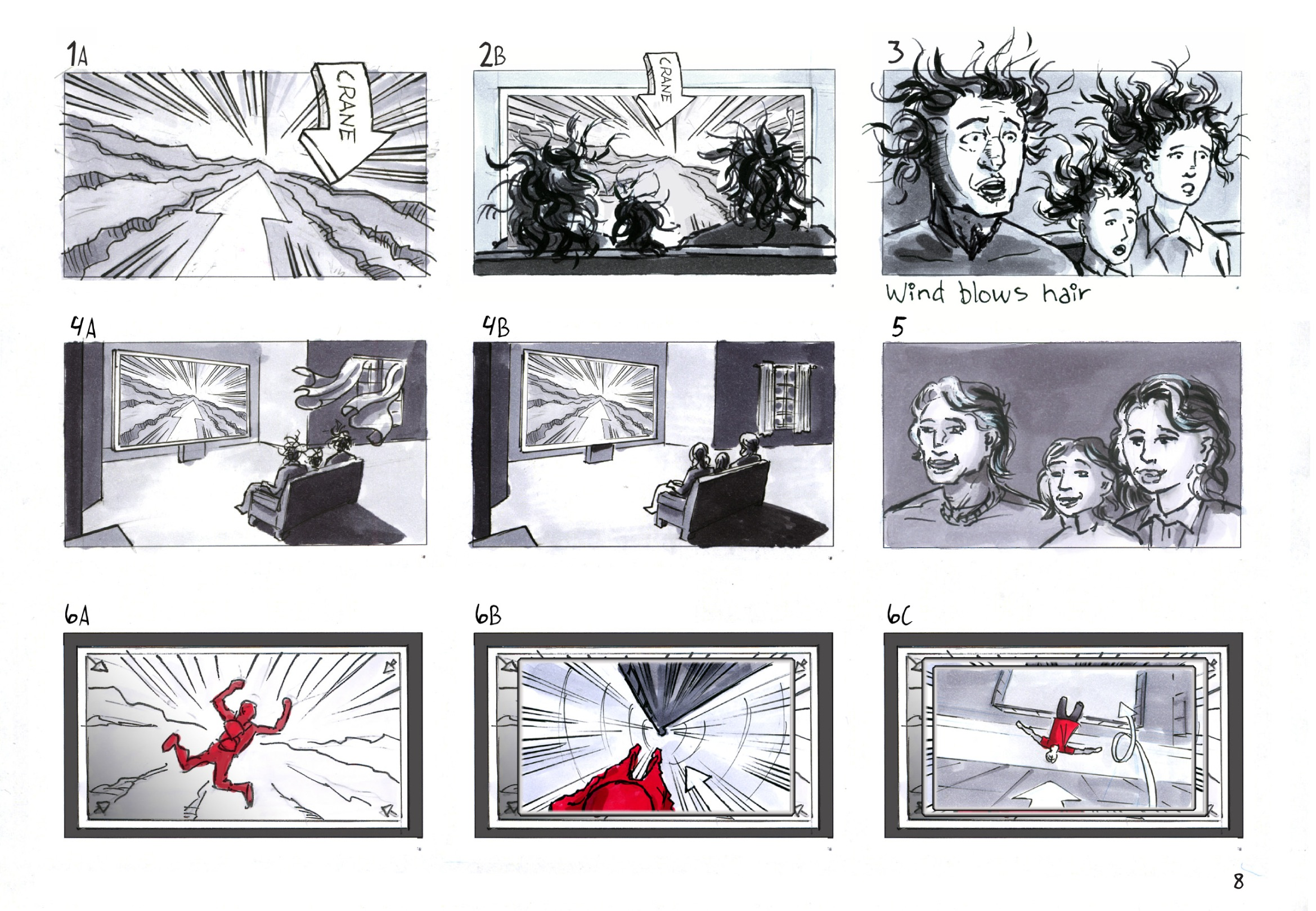 Sharp storyboard